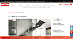 Preview of escalerasenmadera.net
